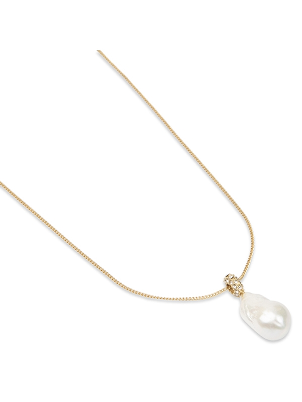 Sparkling Pearl Necklace